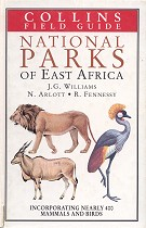 National parks of East Africa.