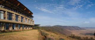 Ngorongoro Wildlife Lodge.