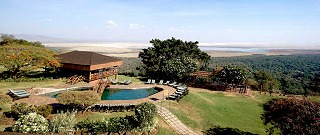 Lake Manyara Wildlife Lodge.